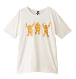 PLAIN PEOPLE( プレインピープル )【plainless】ペルヴィアンピマ天竺プリントTシャツ