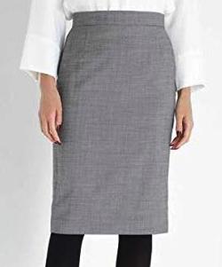 BOSCH(ボッシュ)シルクウールギャバストレッチセットアップスカート