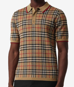 BURBERRY ヴィンテージチェック ポロシャツ