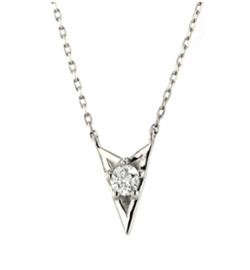 festaria bijou SOPHIA Pt900/850 Wish upon a star ダイヤモンド ペンダント