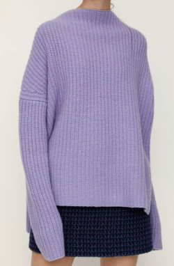 SLY(スライ) LAMBS WOOL OVER SIZE TOPS