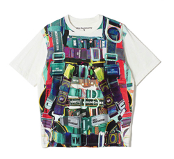 White Mountaineering HARNESS PRINTED T-SHIRT