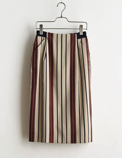 stella-ciffon Stripe jacquard Skirt