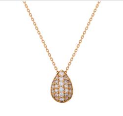 festaria bijou SOPHIA K18イエローゴールド ダイヤモンド ペンダント