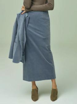BLUEBIRD BOULEVARD コーデュロイマキシスカート