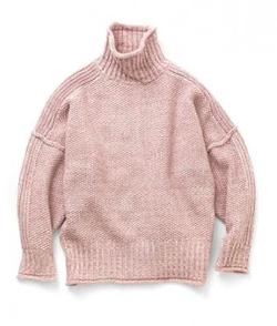 Abel Back pon-pon knit