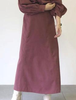 UNRELISH ピーチソフトマーメイドスカート