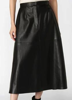 MAISON SPECIAL(メゾンスペシャル)フェイクレザースカート