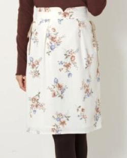 MISCH MASCH (ミッシュマッシュ)花柄レースアップタイトスカート