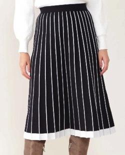 NATURAL BEAUTY(ナチュラル ビューティー)プリーツニットスカート