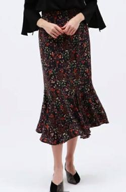 LOVELESS(ラブレス)ヴィンテージフラワーマーメイドスカート