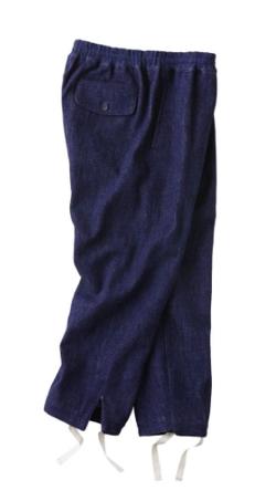 KURO(クロ) Loose Denim Easy Pants / Indigo