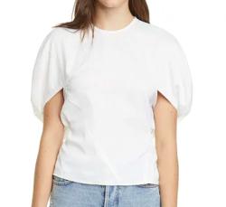 REJINA PYO(レジーナピヨ)marcie pouf shoulder top