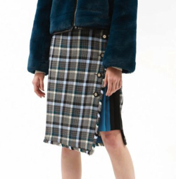 LOVELESS(ラブレス)ツィード チェック スカート