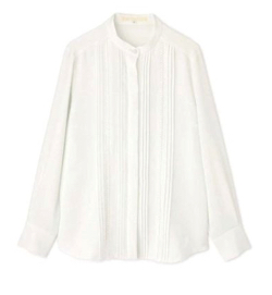 NATURAL BEAUTY(ナチュラル ビューティー)[ウォッシャブル]エステルダブルクロシャツ