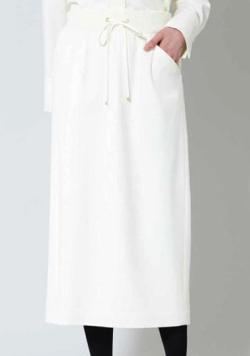 BOSCH(ボッシュ)ストレッチサキソニーセットアップスカート