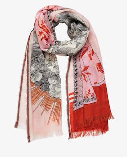 Inouitoosh Le Monde scarf nude peach