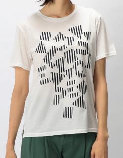 L'EQUIPE ボンディングオパールロゴTシャツ