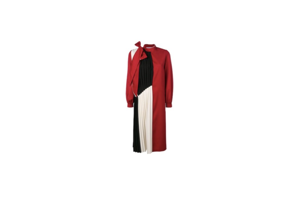 2019/11/21(木)放送の【めざましテレビ】西野七瀬(にしのななせ)さん着用の赤いリボンのワンピースのブランド