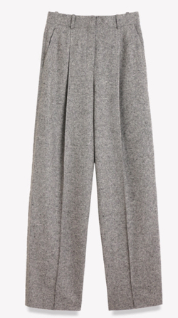Theory(セオリー)Speckle Wool Pleat Trouser T