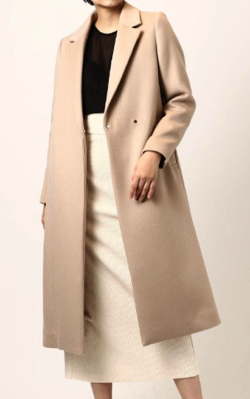 NINE(ナイン)Wool Long Chester Coat