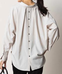 Otto pittock style pittock/【623433】/バックボタンシャツ