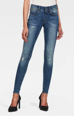 G-STAR RAW Lynn Mid Super Skinny Jeans