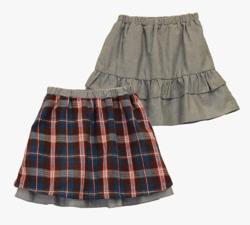 Chummy リバーシブルスカート