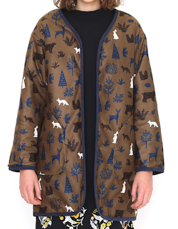 Design Tshirts Store graniph リバーシブルキルティングコート