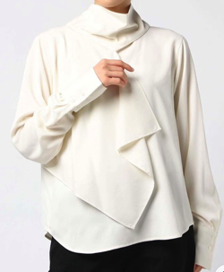 gvgv DRAPED BLOUSE