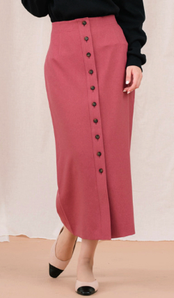 Arumlily(アロムリリー)フロントボタンスカート