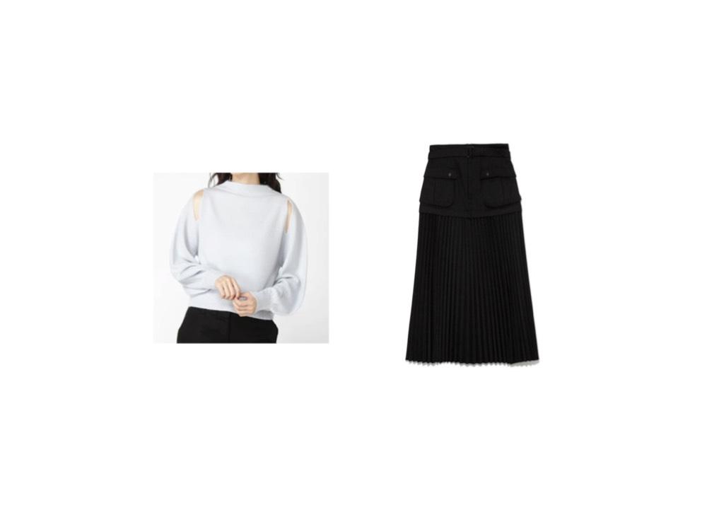 【ちょっと大人の仰天ニュース】田中みな実さん着用ニットとスカートのブランド