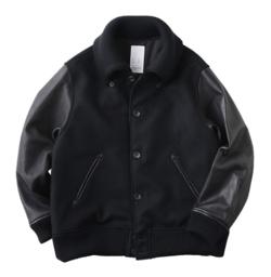 KURO(クロ)Varsity Jacket / Black