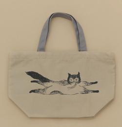 ADIEU TRISTESSE (アデュートリステス)LOISIR コラボ猫トートバッグ小