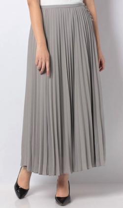 LOUNIE(ルーニィ)プリーツロングスカート