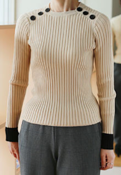 DOUBLE STANDARD CLOTHINGDSC / Pione リブニット KNITS