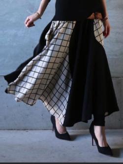 antiqua(アンティカ)ウィンドペン切替スカート