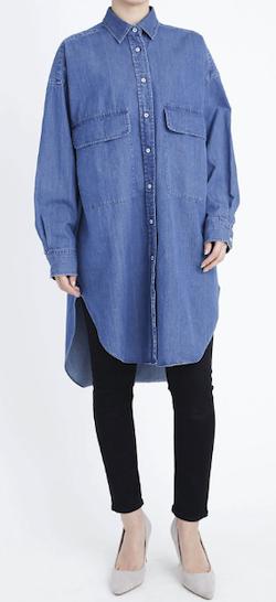 YANUK オーバーサイズシャツ / Oversized Shirt