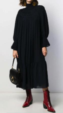 Chloé(クロエ)スモック ドレス