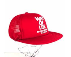 """RATS(ラッツ)MESH CAP """"WAY OF LIFE"""""""
