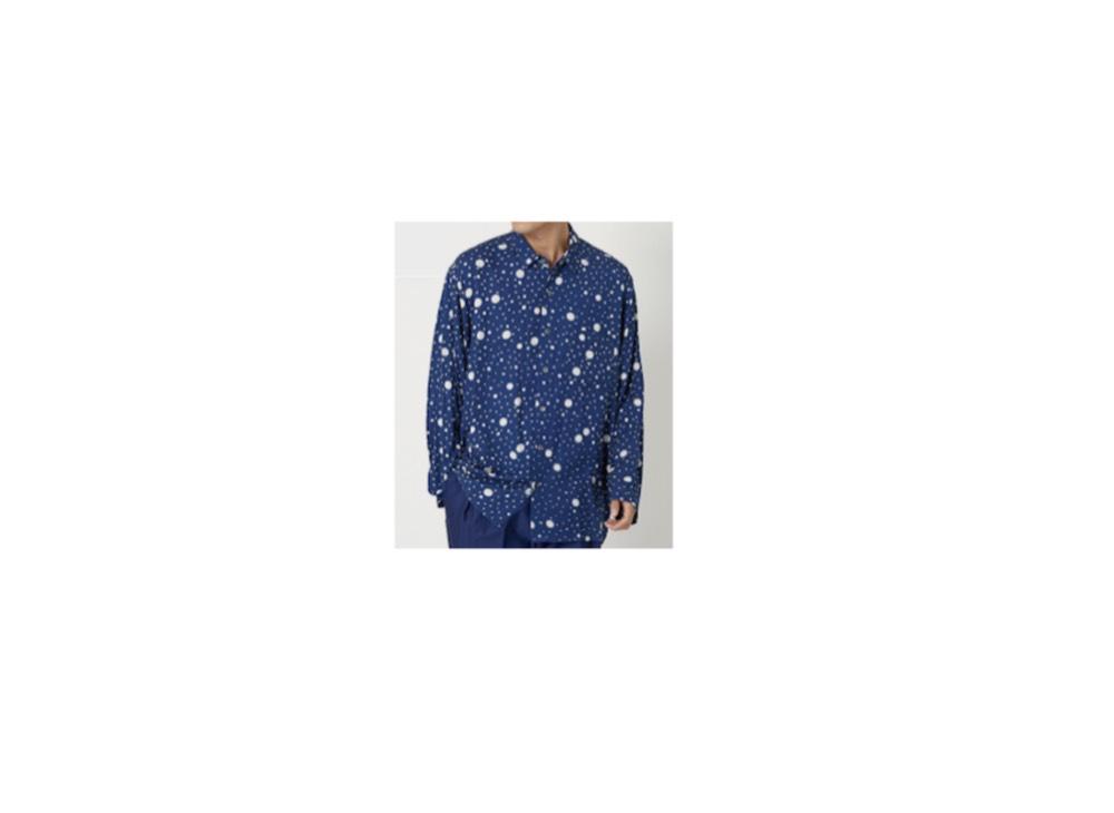 2019/12/10放送【川柳居酒屋なつみ】でムロツヨシさんが着用していた可愛いシャツ