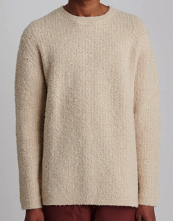 Saturdays NYC Wade Boucle Sweater