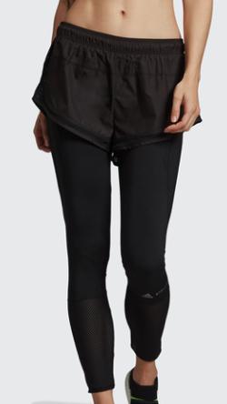 adidas by Stella McCartney パフォーマンス エッセンシャルズ ショーツ オーバー タイツ