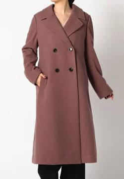 MEW'S REFINED CLOTHES ロングダブルチェスターコート