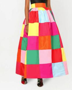 Dolce & Gabbana カラーブロック スカート