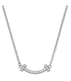 Tiffany(ティファニー)T スマイルペンダント ネックレス
