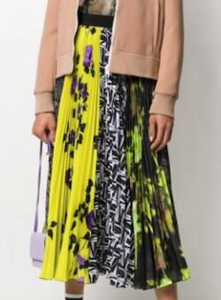 MSGM (エムエスジーエム)ロングプリーツスカート