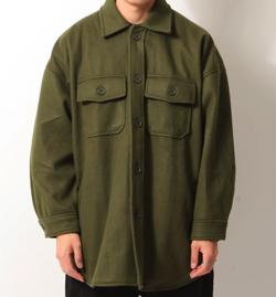 ZIP FIVE ウールCPOビッグシャツジャケット