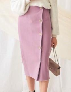 MERCURYDUO(マーキュリーデュオ)リバーシブルIラインスカート