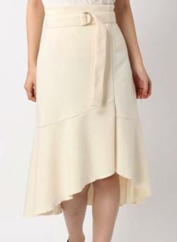 MERCURYDUO ラップマーメードスカート